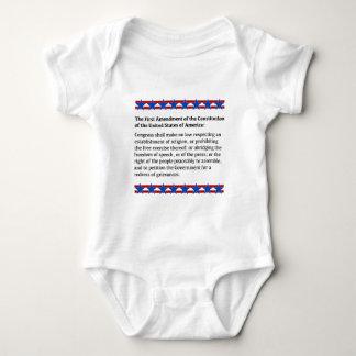 First Amendment Rights Baby Bodysuit