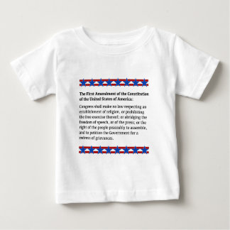 First Amendment Rights Baby T-Shirt