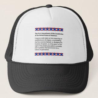 First Amendment Rights Trucker Hat