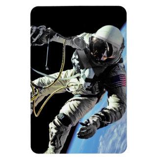 First American Spacewalker Rectangular Photo Magnet