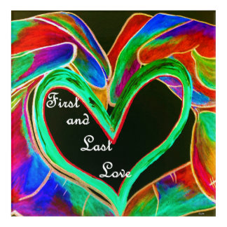 First and Last Love Acrylic Wall Art