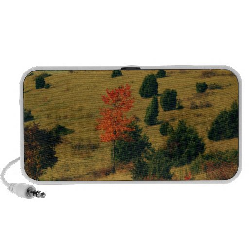 First autumn characters iPhone speaker