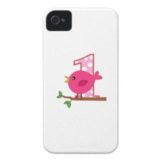 First Birthday Birdie Case-Mate iPhone 4 Case