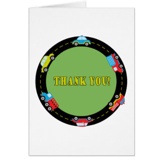 First Birthday Cars Card