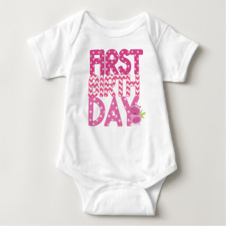 FIRST BIRTHDAY Graphic Tee