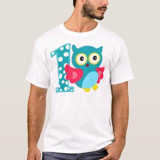First Birthday Happy Owl T-Shirt
