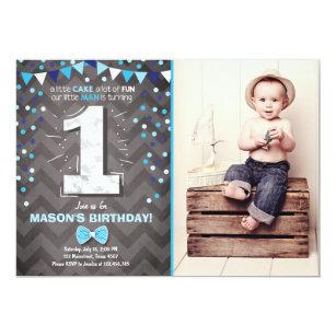 boy 1st birthday invitations zazzle com au