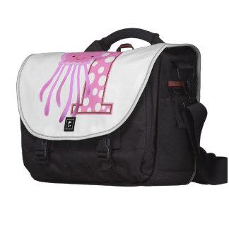 First Birthday Jellyfish Laptop Bag