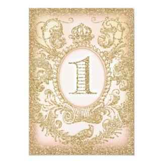 First Birthday Once Upon a Time Princess Card