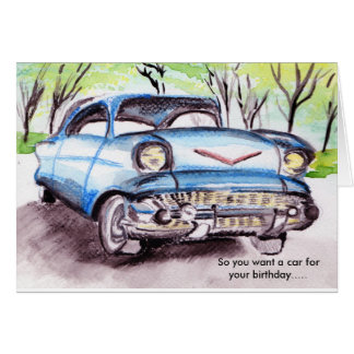 First Car Card
