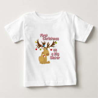 First Christmas as a Big Sister Baby T-Shirt
