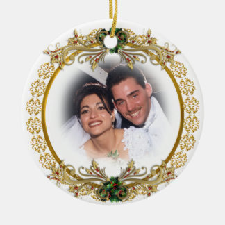 First Christmas as husband and wife ornament