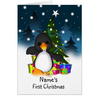 First Christmas, Babies First Christmas Card