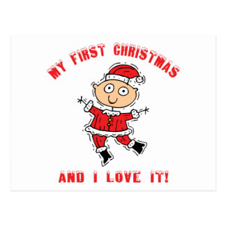 First Christmas Baby Gift Postcards