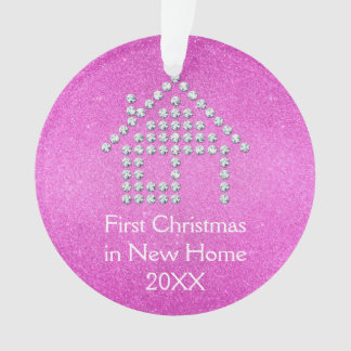 First Christmas in New Home - Pink