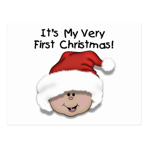 First Christmas Latino Baby Tshirts and Gifts Post Cards