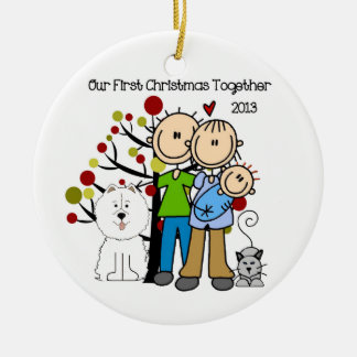 First Christmas Together Family Ornament