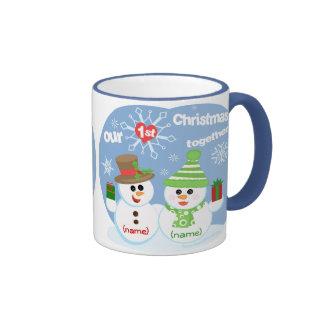 First Christmas Together Mug