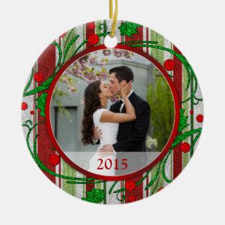 First Christmas Together Photo Christmas Ornament