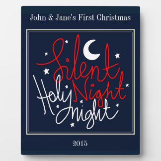 First Christmas Together Plaque customize-able