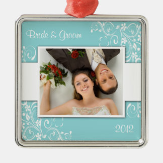 First Christmas Wedding Ornament