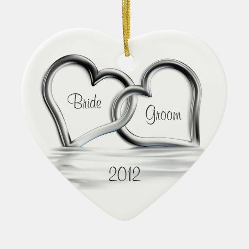 First Christmas Wedding Ornament