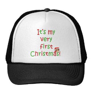 First Chrsistmas Trucker Hat