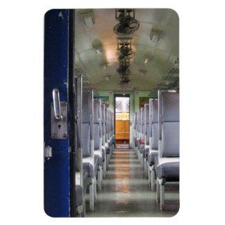 First Class ... Rail Travel Rectangular Photo Magnet