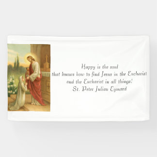 First Communion Banner: Eucharist in All Things Banner