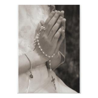 First Communion Card