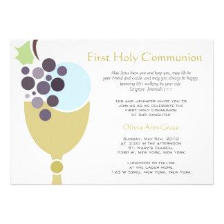 First Communion Custom Invitations
