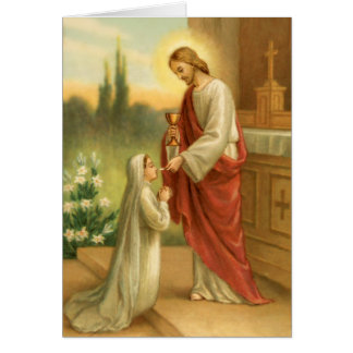First Communion: Eucharist in All Things Card