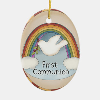 First Communion Religious Ornament or Wall Hanging