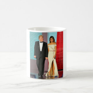 First Couple Donald and Melania Trump Inauguration Coffee Mug