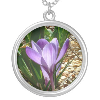 First Crocus- necklace