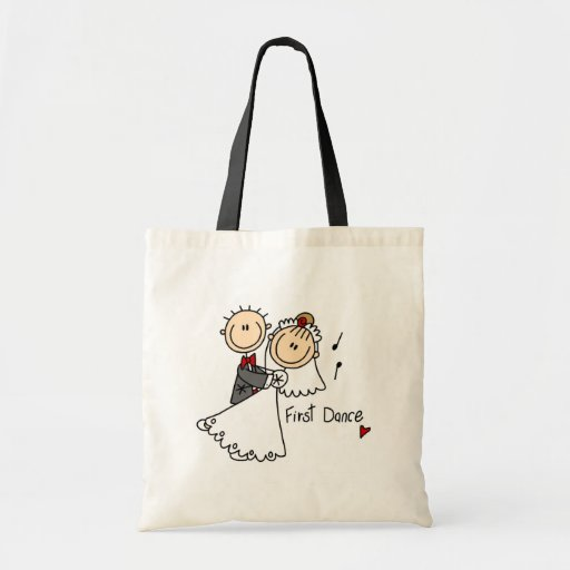 First Dance Wedding Tshirts and Gifts Canvas Bags