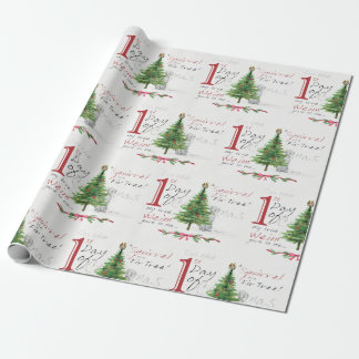 FIRST DAY OF CHRISTMAS WEIMS WRAPPING PAPER