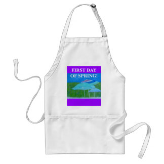 FIRST DAY OF SPRING - APRON