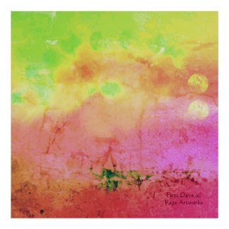 First Days(c) Impressionistic_Abstract_ Poster