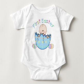 First Easter Baby Boy Infant Creeper