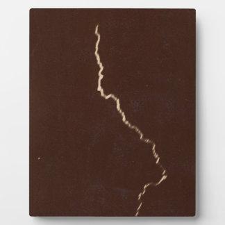 First ever photograph of lightning bolt - 1886 plaque