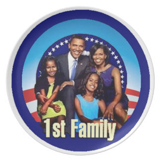 FIRST FAMILY Plate