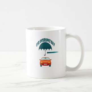 First February - Car Insurance Day Coffee Mug