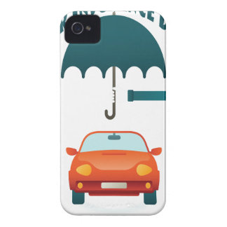 First February - Car Insurance Day iPhone 4 Case-Mate Cases