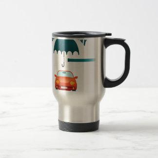 First February - Car Insurance Day Travel Mug