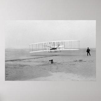 """First Flight poster 24""""x16"""""""