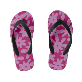 First flip flops Jimette Design pink for kids