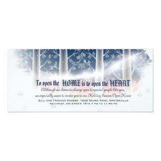 "First Frost Open House Invitation 4"" X 9.25"" Invitation Card"