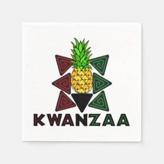 First Fruit Kwanzaa Party Paper Napkins