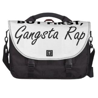 First Gangsta Rap Commuter Bags